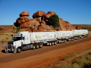 inercia road train