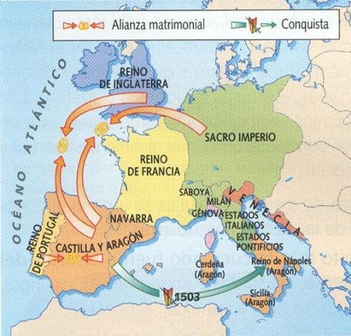 europa reyes catolicos